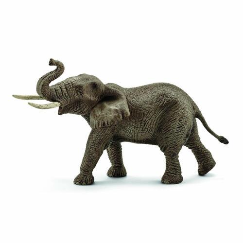 Male animal FIGURE NEW Schleich Vie Sauvage éléphant africain