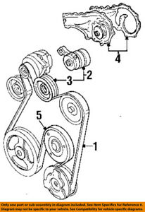 image is loading cadillac-gm-oem-92-93-deville-serpentine-drive-