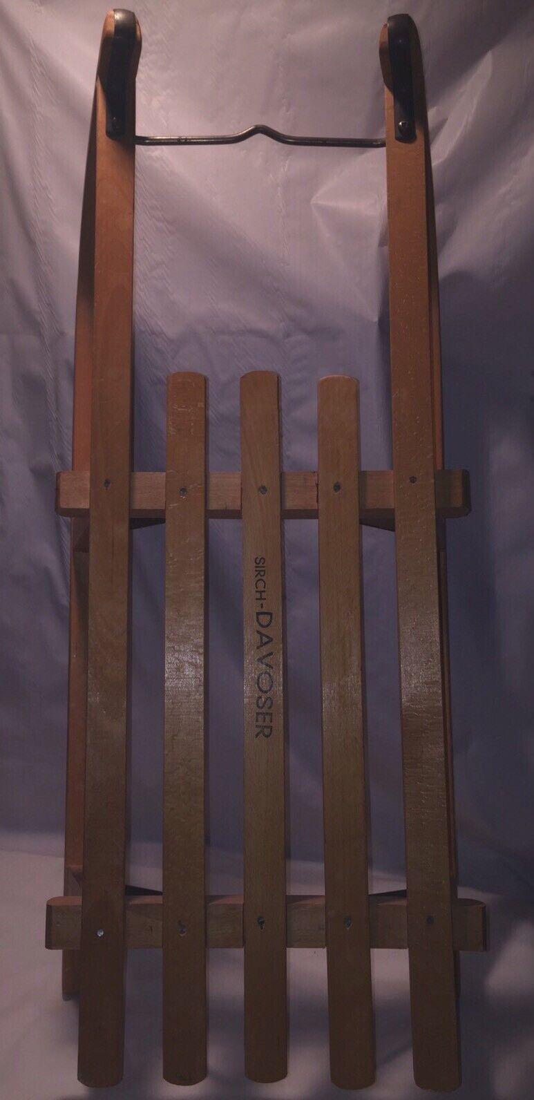 Sirch Davoser Davoser Davoser - Wooden sled (Beechwood) 5f0a74