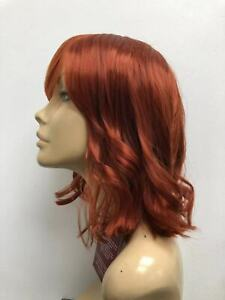 NEW-FASHION-LADY-WIG-HIGH-HEAT-RESISTANT-LONG-WAVY-BOB-COPPER-RED-350-925A