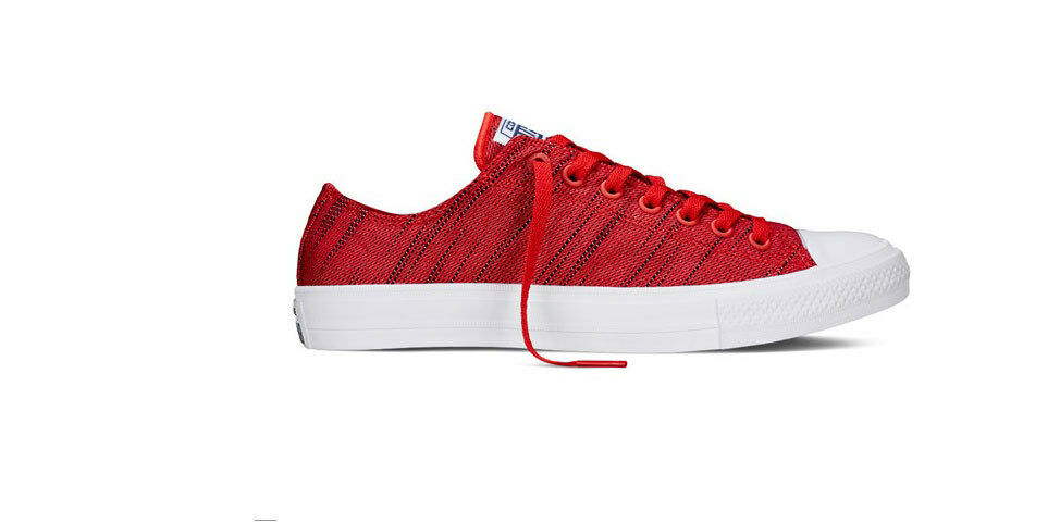 5d1beb0797bd CONVERSE CHUCK TAYLOR ALL-STAR II KNIT MEN S MEN S MEN S SHEOS RED 151090C  9e0590