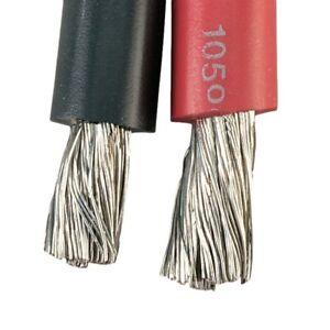 4/0 2/0 1/0 2GA 4GA 6GA 8GA 10GA Marine Battery Cable Copper Tinned // Per Foot