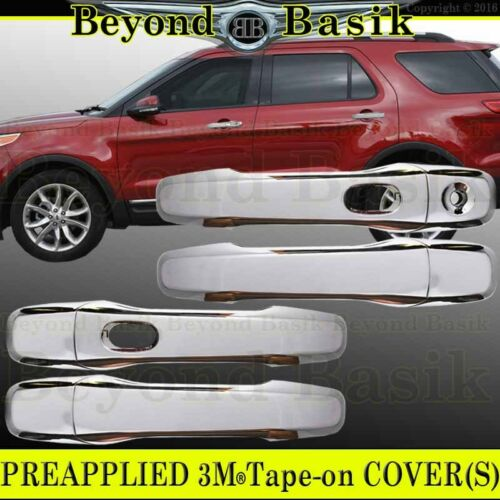 2011 2012 2013 2014 15 16 17 18 2019 FORD EXPLORER CHROME Door Handle Covers WSK