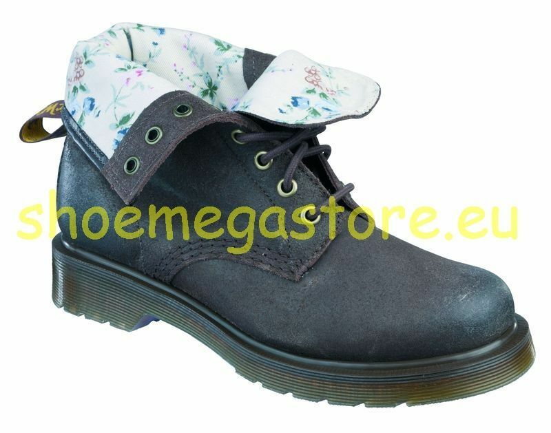 Dr Martens 8-Hole 1460 Brown bluemenmuster Lining 14282201 Original Classic Doc