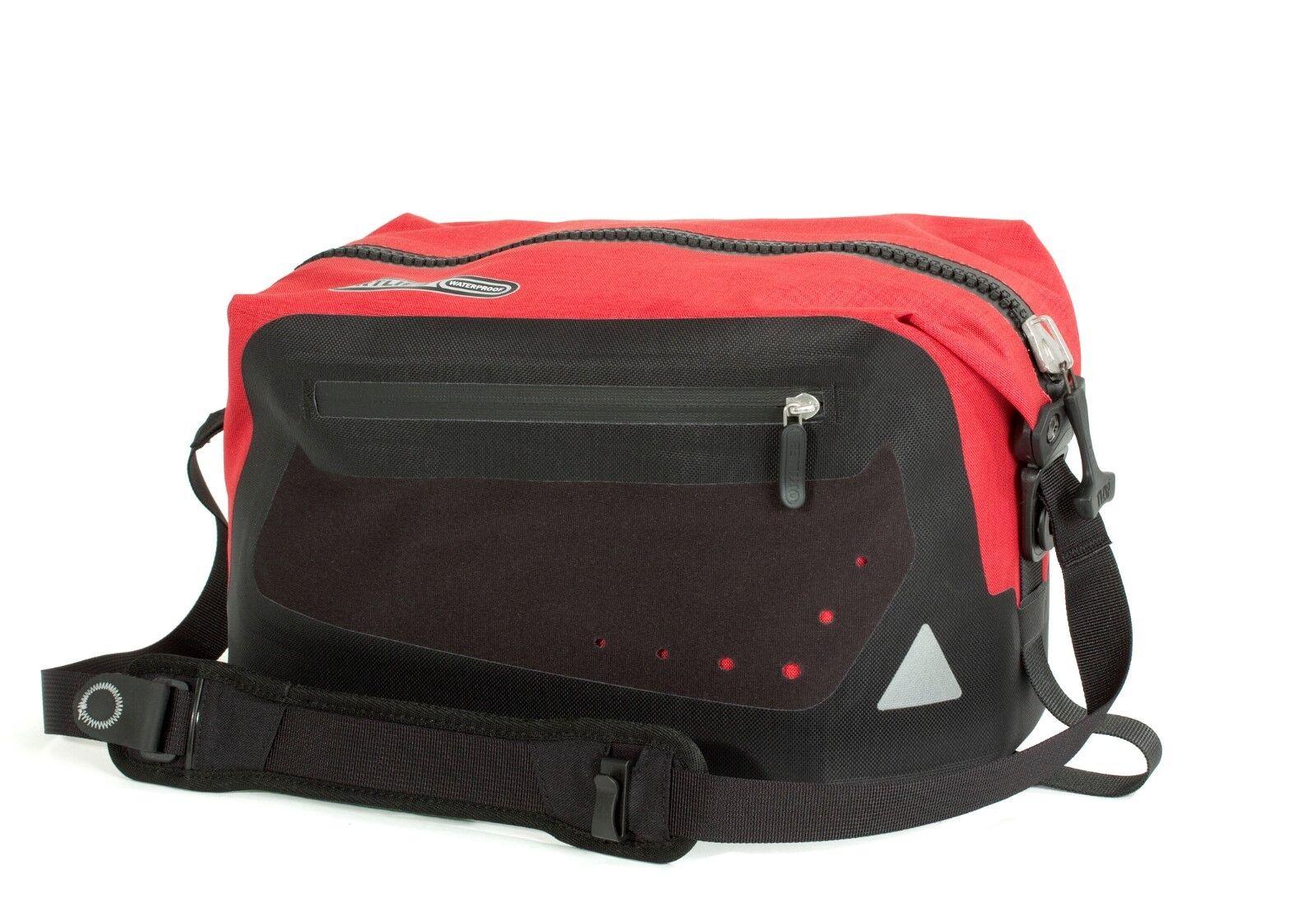 Ortlieb Trunk-Bag con Rixen & Kaul Adaptador   Rojo -negro