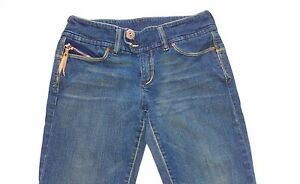 Diesel-Jeans-Womens-SZ-28-RUNS-SMALL-28-X-30-Actual-Boot-Italy-Double-Button