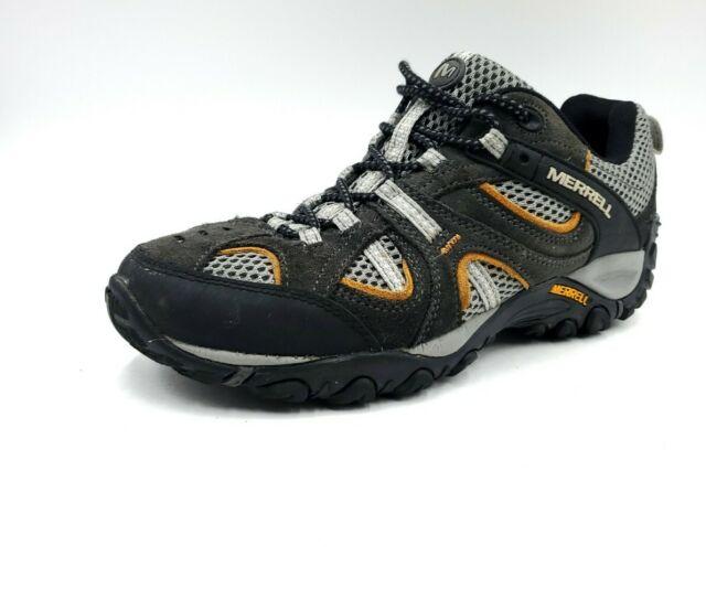 Mens Hiking Trail Walking Shoes Brown