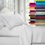 4-Pc-Premier-Bed-Sheet-Set-King-Size-White-1800-Series-Brushed-Microfiber-New thumbnail 5