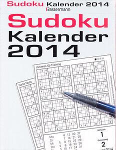 Sudoku-Kalender-2014-RAR-selten-wie-neu
