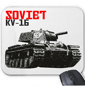 SOVIET-UNION-KV-16-TANK-MOUSE-MAT-PAD-AMAZING-DESIGN