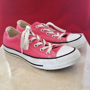 Hot Pink Converse All Star Low Top