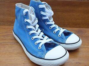 Converse Bleu Uk 34 Canvas All Top Hi Casual 2 Eu Ct Taille Baskets Star 6ra4tv6nq