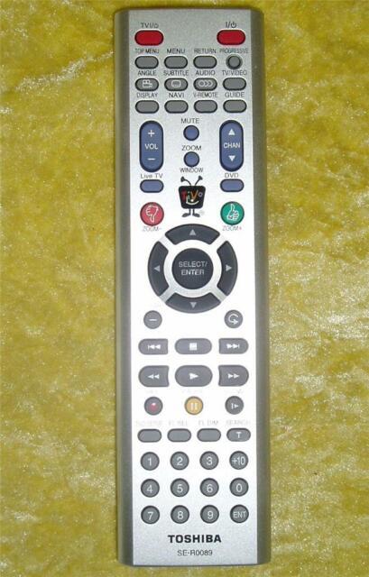 Original Toshiba Remote Control SE-R0089 For Toshiba DVD