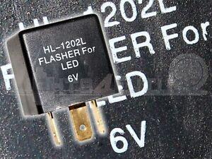 Lastunabhaengig-Blinkrelais-LED-geeignet-6V-0-05-15A-3-Polig-Relais-Blinker-Neu