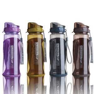 EE/_ 550//850//1000ml Outdoor Straw Water Bottle Big Capacity Sports Drinkware Intr