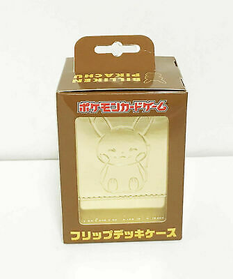 Pokemon Center Osaka Limited Flip Deck Case Billiken Pikachu Rare Japan F//S W//T