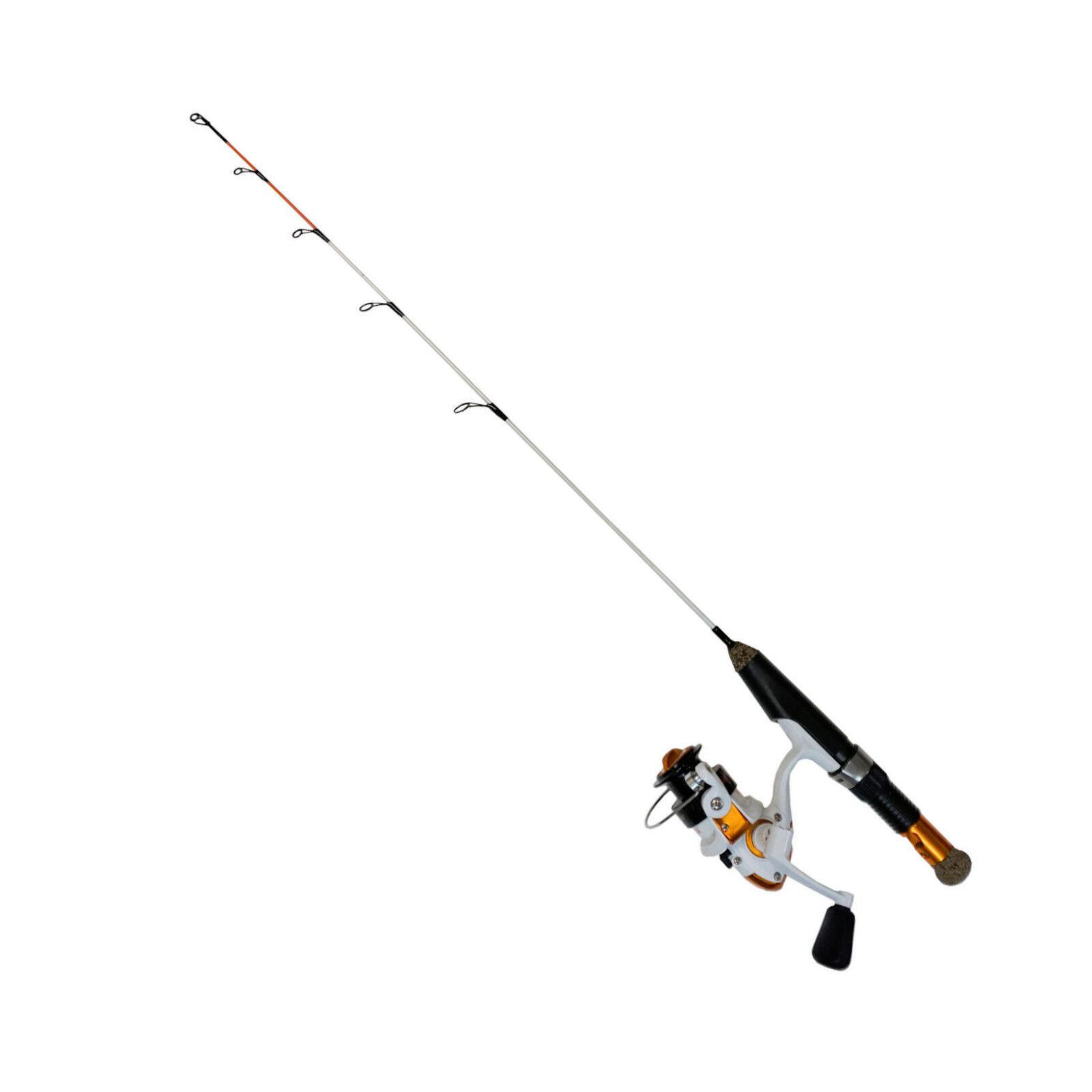 Celsius Rowdy Rod 27  Medium Ice Fishing Rod Reel - TWO COMBOS   CE-RR27MC