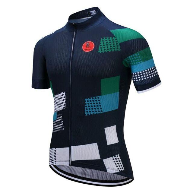 Männer 2019 Radtrikot Team Bike Bekleidung T-Shirt Weste Fahrrad Kurzarm Tops