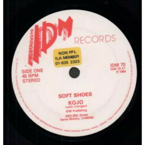 SOFT-SHOES-Kojo-7-034-VINYL-UK-Idm-B-W-Fear-Of-Flying-Idm70-Has-Non-Ppl-Sticker