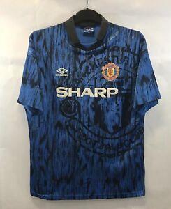 Manchester United Away Football Shirt 1992/93 Adults XL Umbro A650