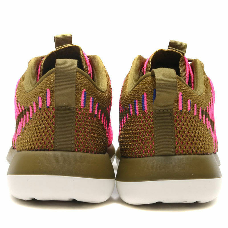 roshe taille deux flyknit nib femmes nike taille roshe chaussures confortables olive rose court 6,5 ea8fc2