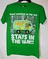 Scooby Doo Men's Small T-shirt Graphic Tee - Mystery Machine
