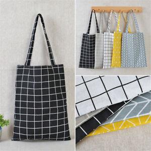 Eco Shopping Cotton Linen Tote Handbag Canvas Purse Pouch Shoulder ... 694a500f8a