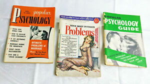 YOUR-MOST-INTIMATE-PROBLEMS-amp-2-POPULAR-PSYCHOLOGY-1949-1957