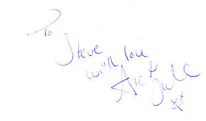 ENGLISH ACTRESS ALEX FLETCHER HANDSIGNED 5 x 3 WHITE CARD - <span itemprop='availableAtOrFrom'>Weston Super Mare, Somerset, United Kingdom</span> - If the item you received has in any way been wrongly described or we have made a mistake regardless of the nature we will pay your return postage costs. If however the - <span itemprop='availableAtOrFrom'>Weston Super Mare, Somerset, United Kingdom</span>