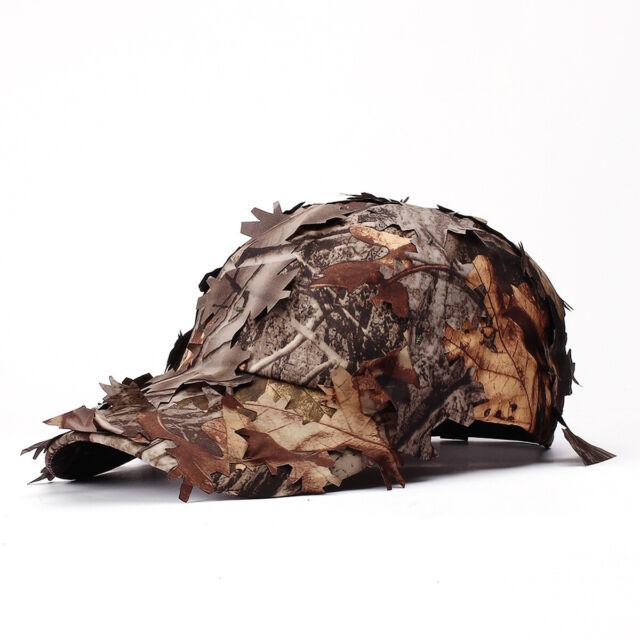 Men Military Training Jungle Snipe Cap Anti-terrorism Camouflage Hat Fine #G6N