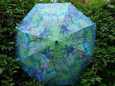 """Monet Garden Compact Auto Open Umbrella 42"""""""