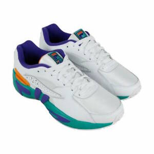 Fila-Mens-Mindblower-Leather-Low-Top-Lace-Up-Running-Sneaker