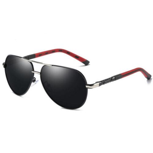Aluminium Polarized Photochromic Sunglasses Men Chameleon Pilot Outdoor Eyewear