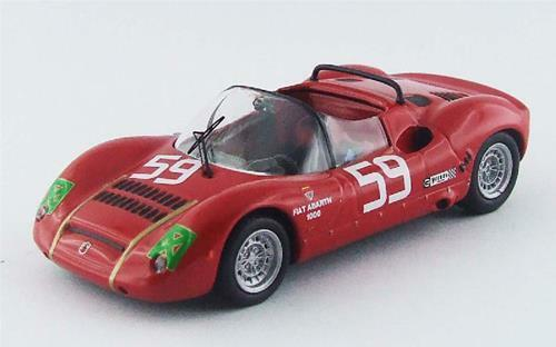 Abarth Sp 1000 1300 Monza 1968 Grano Pasotto  59 Best 1 43 BE9530