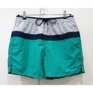 on sale 60595 29242 Dettagli su BYBLOS Boxer verde mare uomo costume da bagno swimsuit 888403