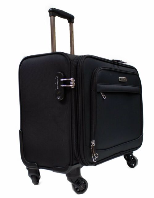 Wheeled Laptop Briefcase Business Office Bag Trolley Case Travel Cabin Luggage