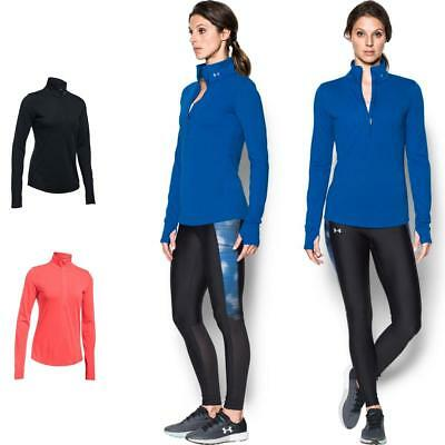 Under Armour Women/'s Threadborne Streaker 1//2 Zip Long Sleeve Running T-Shirts