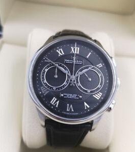 Dreyfuss-amp-Co-Black-Automatic-Chronograph-Watch-DGS000094-10-2-Years-Warranty