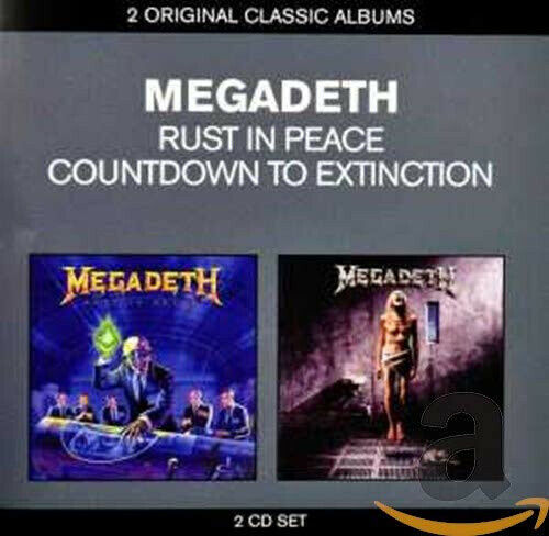 Countdown to Extinction/Rust in Peace by MEGADETH