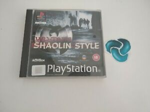 PS1 Wu-Tang:Shaolin Style