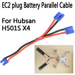 EC2-Plug-Battery-Parallel-Cable-4-Axis-Drone-Part-For-Hubsan-H501S-X4-Quadcopter