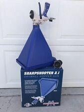 Marshalltown Sharpshooter 21 Drywall Sprayer Gun With Hopper Blue Ss21