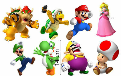 Choose Size BOO GHOST SUPER MARIO Bros Decal Removable WALL STICKER Decor Art