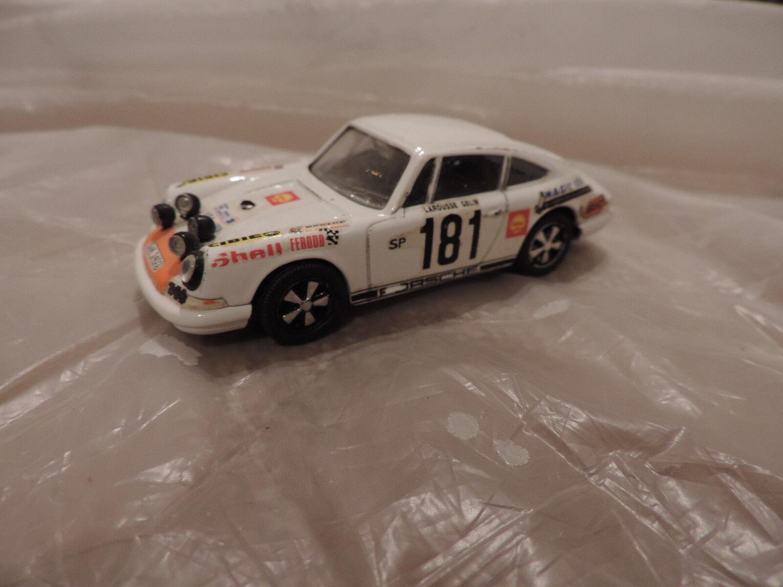PORSCHE 911 (Ancienne Porsche 911 R n181 Tour de France 1969 Larousse SPARK 143 | Réputation D'abord