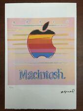Andy Warhol Litografia 57 x 38 Arches Timbro Secco Israel Castelli AN231