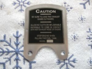 Maytag-MODEL-92-caution-plate-SHORT-DEEP-TANK-S-279
