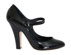 Caricamento dell immagine in corso Nuovo-Dolce-amp-Gabbana-Scarpe -pelle-Nero-Tacchi- 675269cabb9
