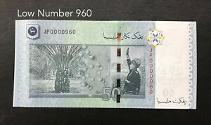 Malaysia-RM50-Number-960-UNC