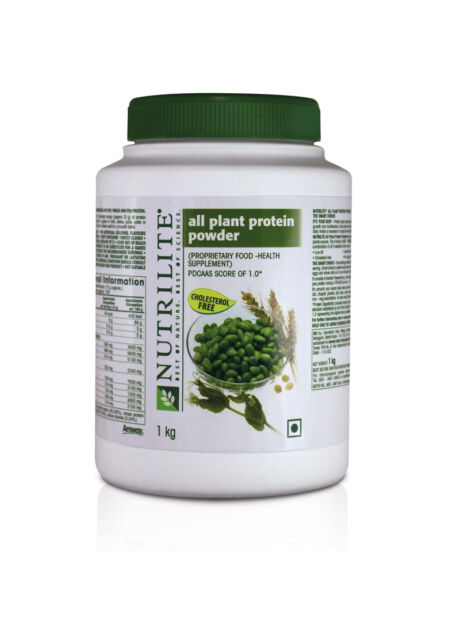 Amway Nutrilite All Plant Protein powder Family Pack 1000 g /1kg,expiry: 03/2018