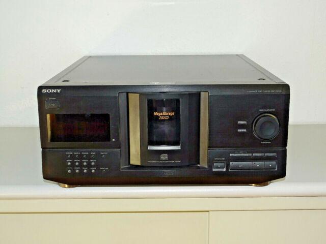 Sony CDP-CX235 200-fach CD-Wechsler in Schwarz, 2 Jahre Garantie